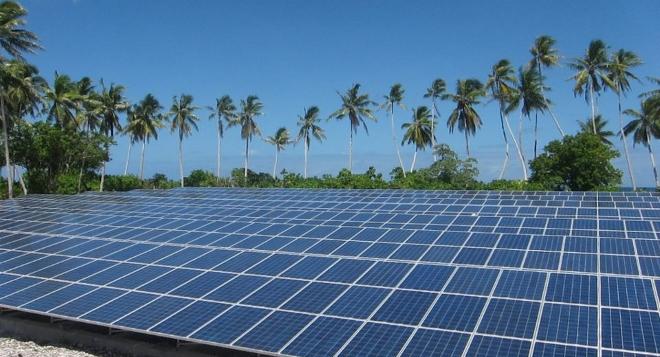 La primera región 100% solar