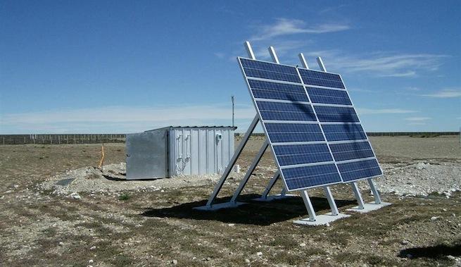 Energ a solar para bombear agua de pozos - Bombas de superficie para pozos ...