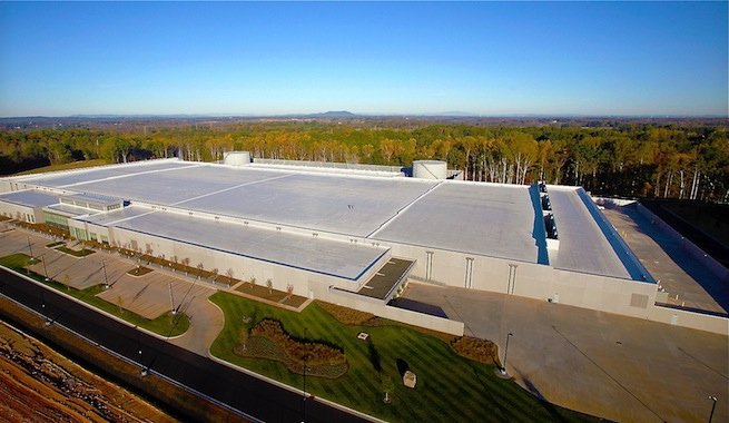 El centro de datos de Apple usa 100% energía renovable