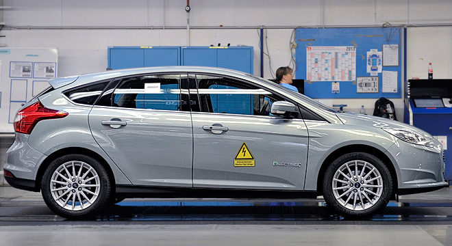 Empieza la producción europea del Ford Focus Electric