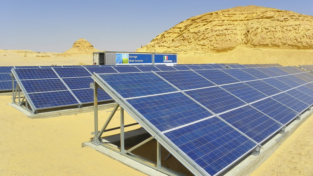 Egipto energia solar