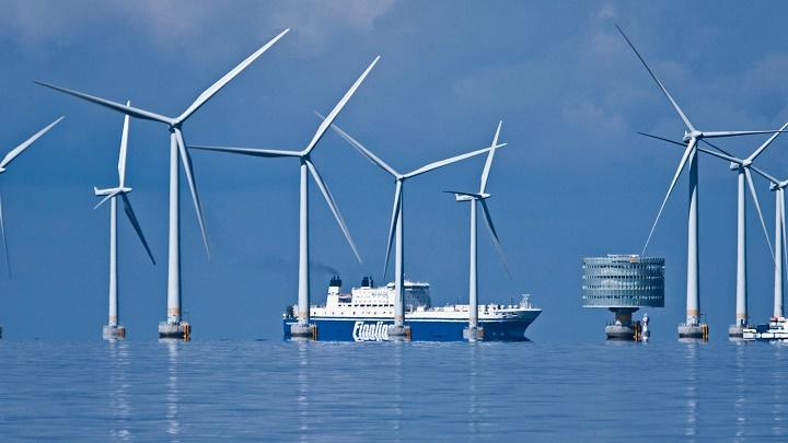 Dinamarca energía eólica
