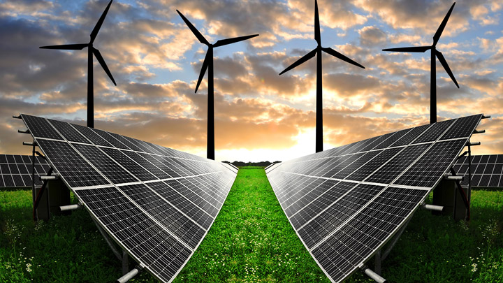 Energias solar y eolica