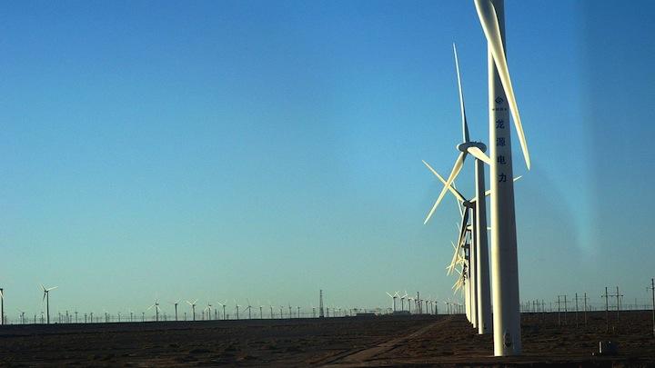 China granja eolica
