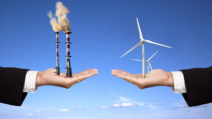 Energia fosil vs energias limpias