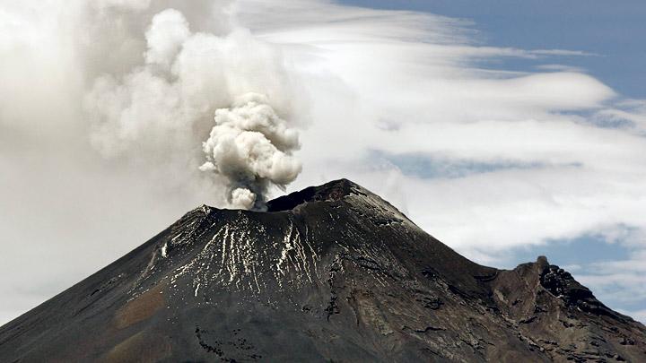 Volcan-popocatepeti